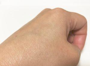 アルガンオイルを使用後化粧水をつけると馴染みがよくほどよい艶も
